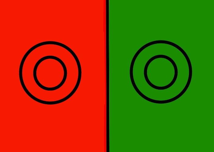 レッドグリーンテスト… これってやる意味あるのかな?